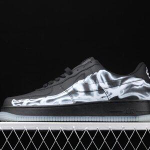 Nike Air Force 1 07 QS Black Skeleton 1