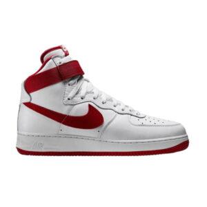 Nike Air Force 1 Hi Retro QS White Team Red