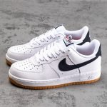 Nike Air Force 1 Low 07 White Obsidian 1