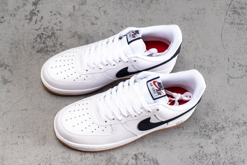 Nike Air Force 1 Low 07 White Obsidian 2