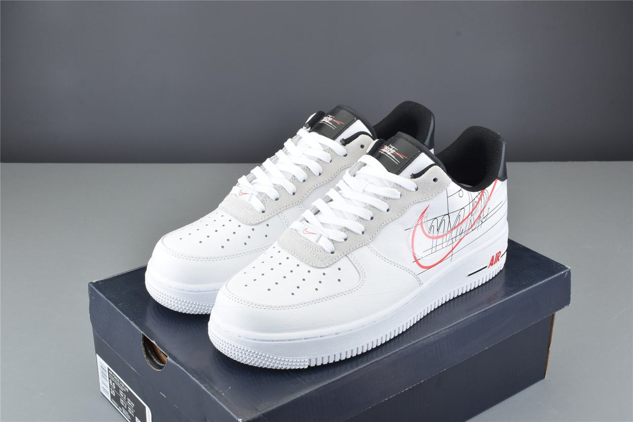 Nike Air Force 1 Low Script Swoosh Pack 7