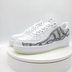 Nike Air Force 1 Low Skeleton Halloween 2018 1