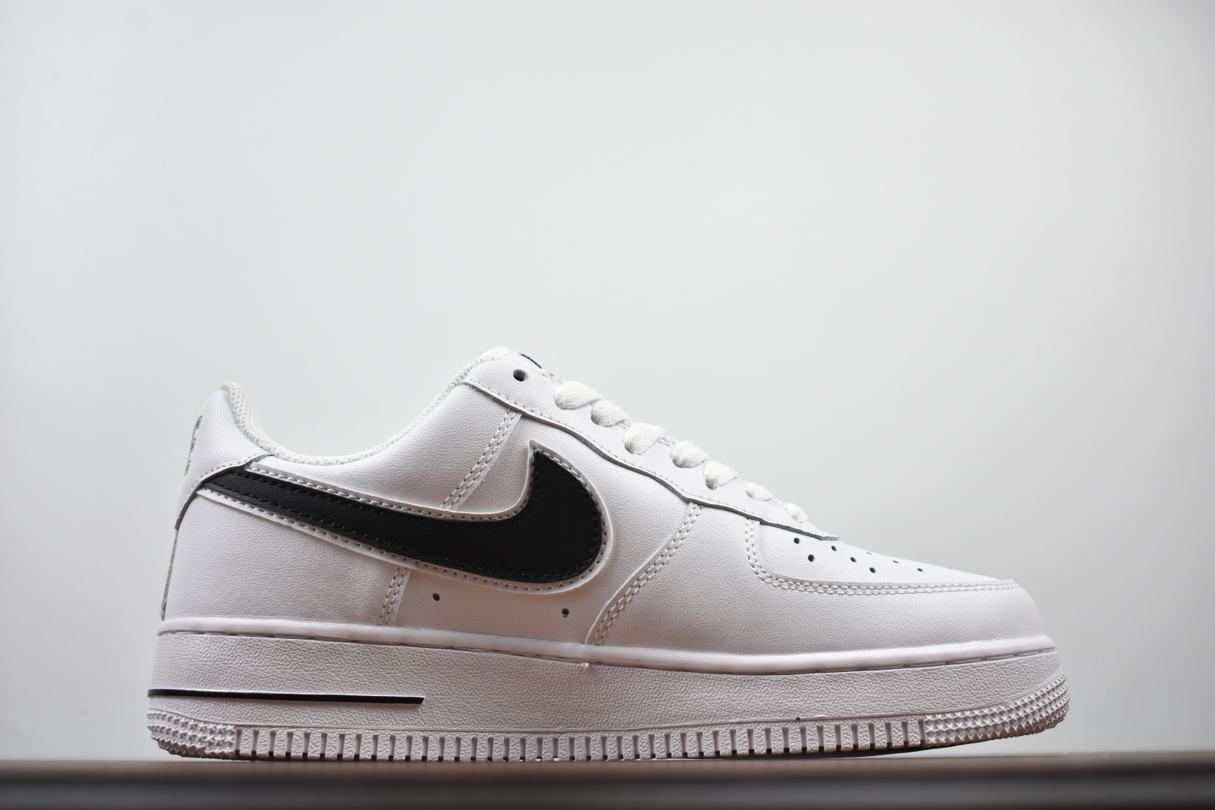 Nike Air Force 1 Low White Black 2018 3