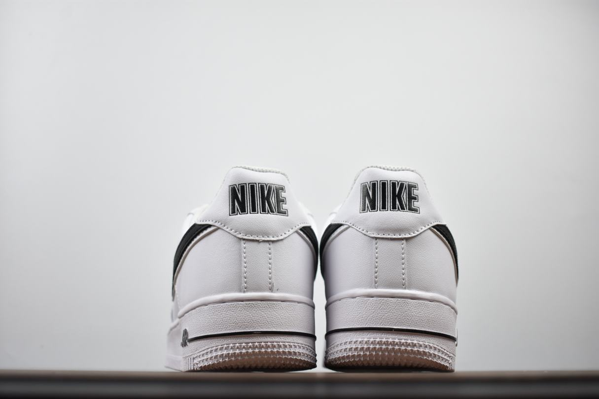 Nike Air Force 1 Low White Black 2018 4