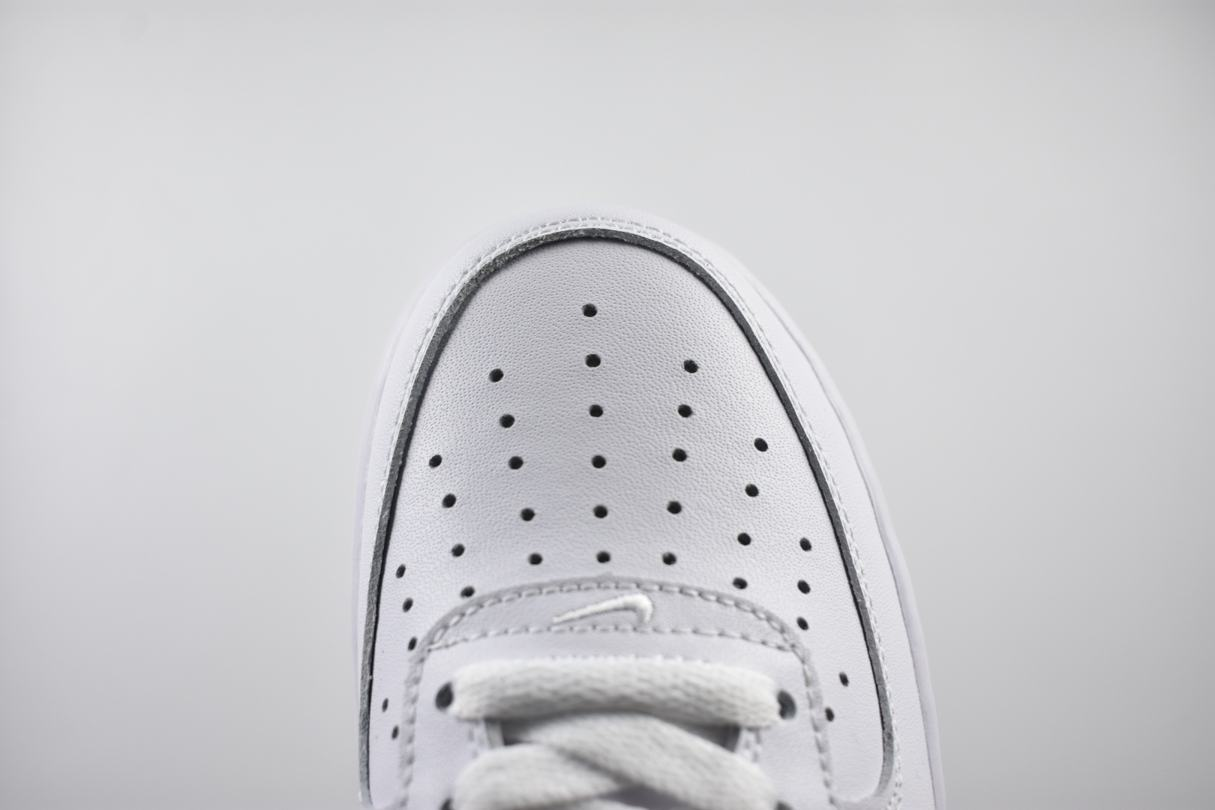 Nike Air Force 1 Low White Black 2018 6