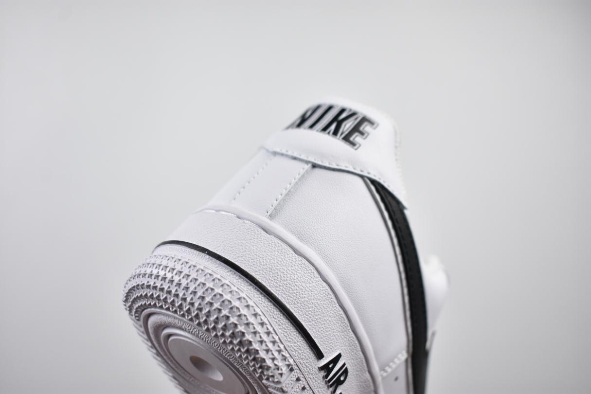 Nike Air Force 1 Low White Black 2018 8