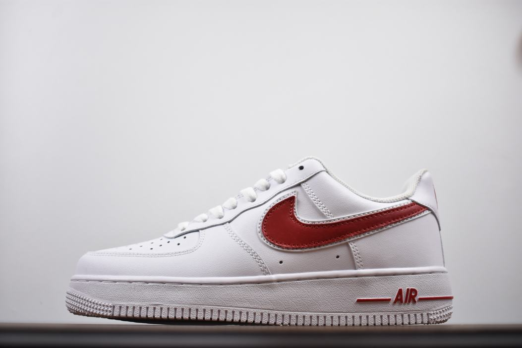 Nike Air Force 1 Low White Gym Red 1