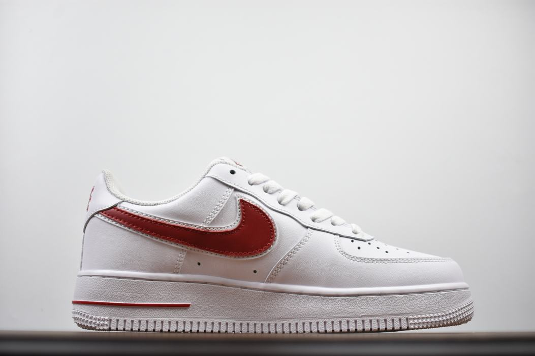 Nike Air Force 1 Low White Gym Red 3
