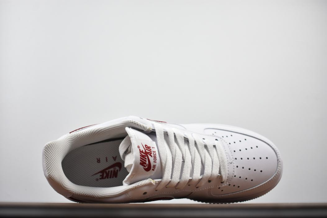 Nike Air Force 1 Low White Gym Red 4