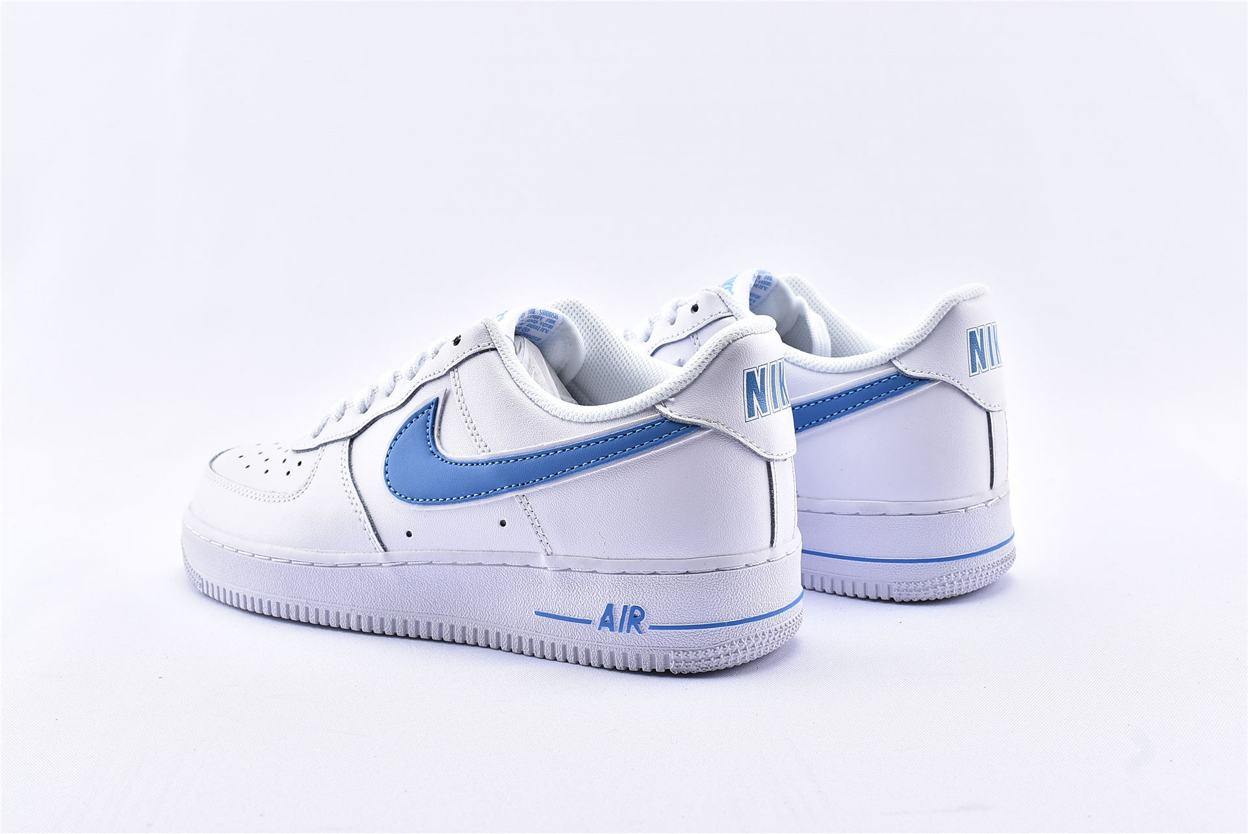 Nike Air Force 1 Low White University Blue 9