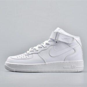 Nike Air Force 1 Mid White 07 1