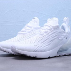 Nike Air Max 270 White Pure Platinum 1