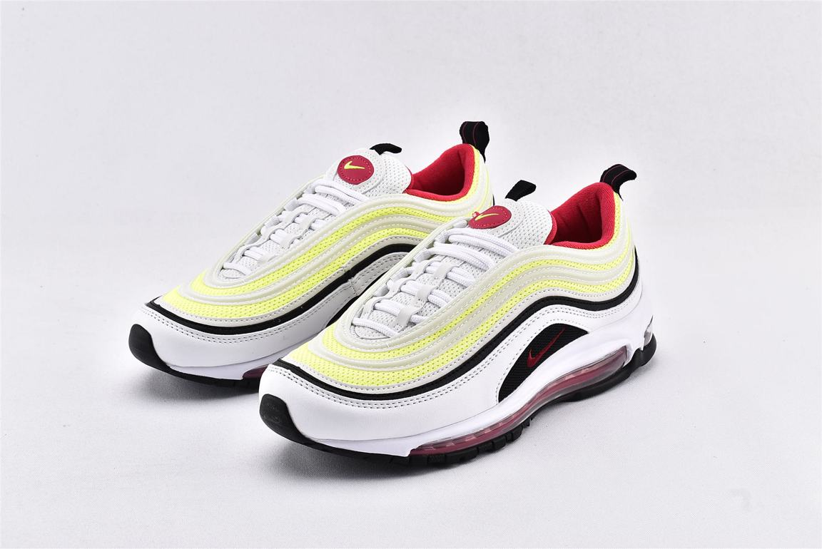 Nike Air Max 97 GS White Rush Pink Volt 5
