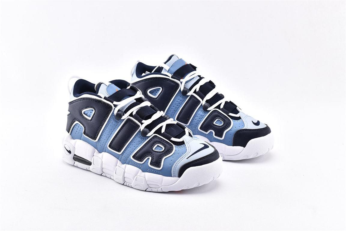 Nike Air More Uptempo Denim Blue GS 2
