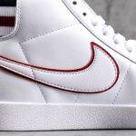 Nike Blazer Mid White Blackened Blue Red Crush W 6