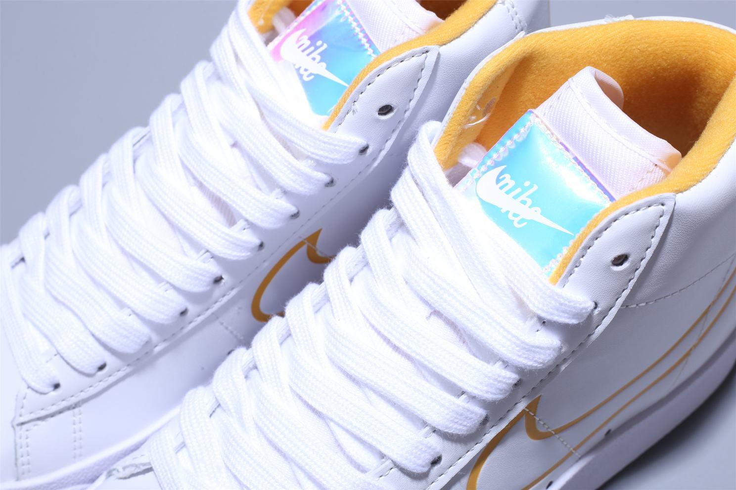 Nike Blazer Mid White Topaz Gold W 11