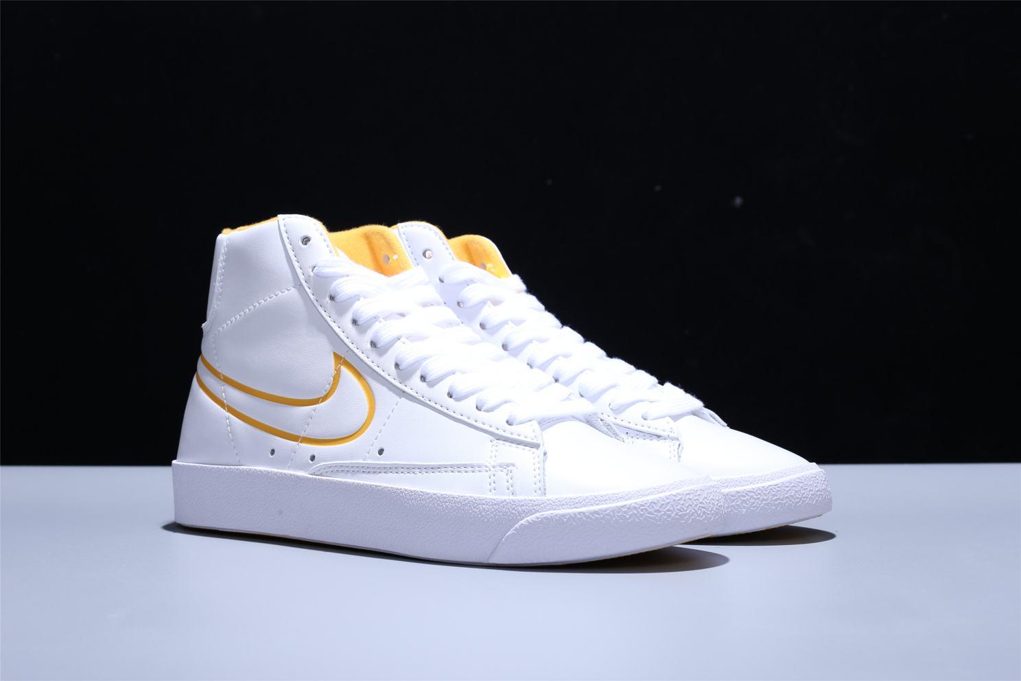 Nike Blazer Mid White Topaz Gold W 2
