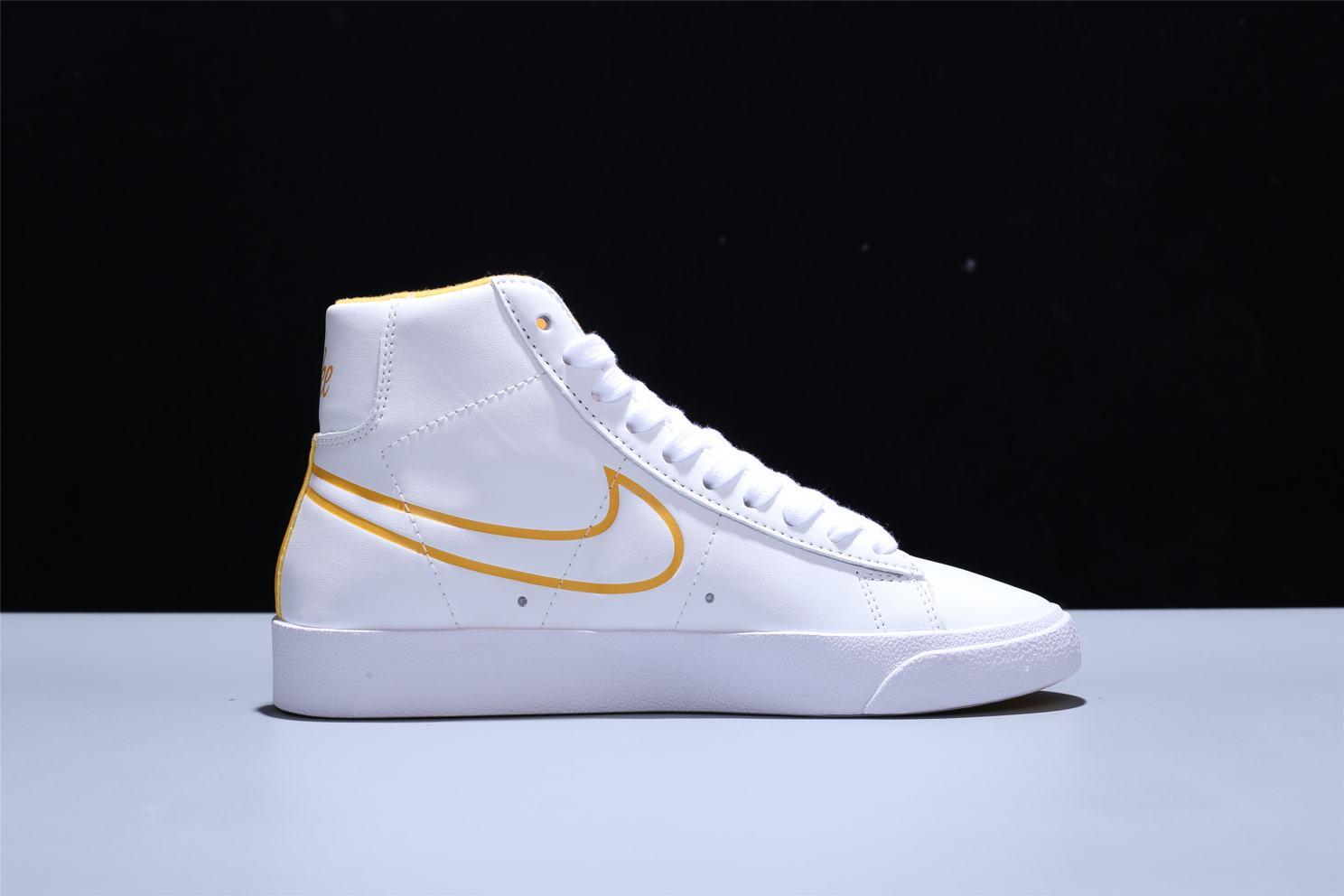Nike Blazer Mid White Topaz Gold W 5