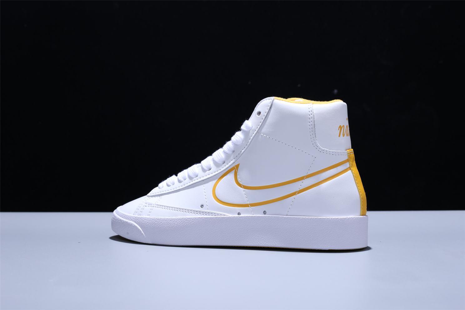 Nike Blazer Mid White Topaz Gold W 6