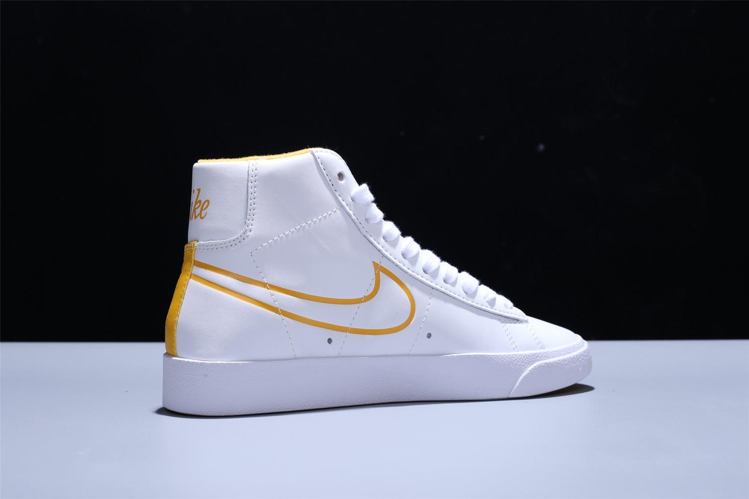 Nike Blazer Mid White Topaz Gold W 7