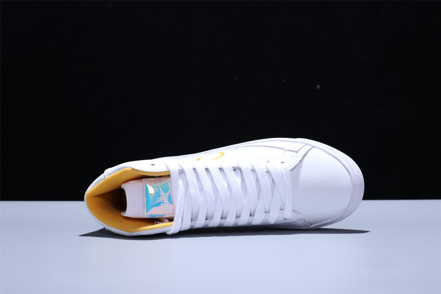 Nike Blazer Mid White Topaz Gold W 8