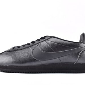 Nike Classic Cortez Leather Triple Black 1