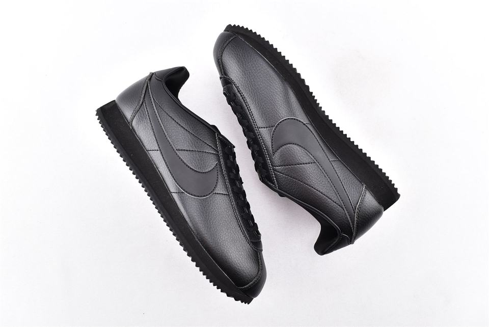 Nike Classic Cortez Leather Triple Black 7