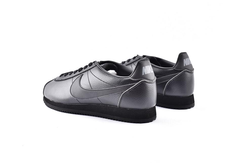 Nike Classic Cortez Leather Triple Black 9