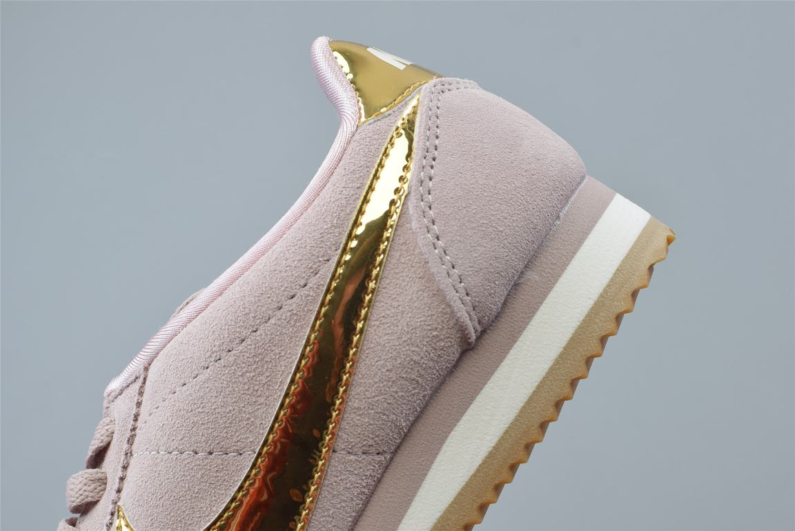 Nike Classic Cortez SE Diffused Taupe Metallic Gold W 5