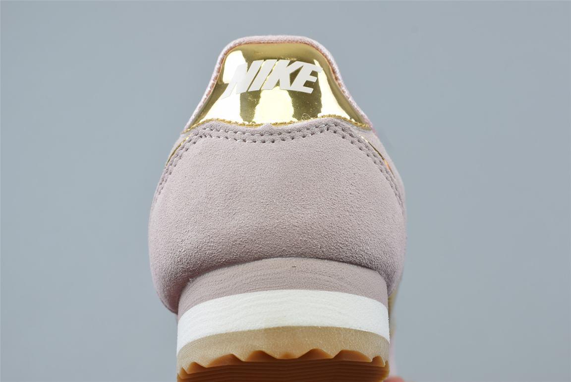 Nike Classic Cortez SE Diffused Taupe Metallic Gold W 6