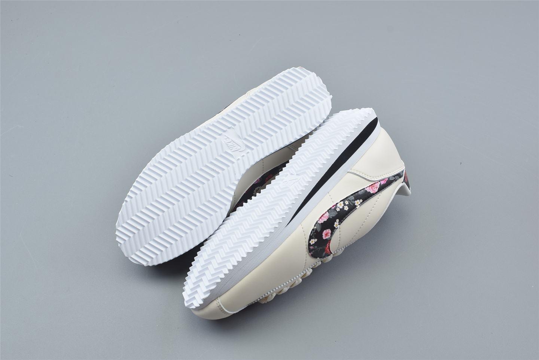 Nike Cortez Basic Vintage Floral GS Pale Ivory 2