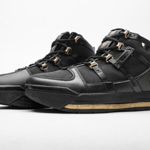 Nike LeBron 3 Black Gold 2018 1