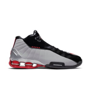 Nike Shox BB4 Black Cement Red