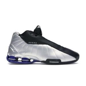 Nike Shox BB4 Black Silver Lapis