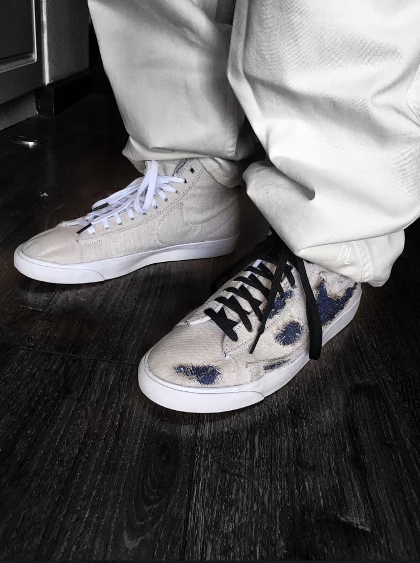 Nike Stranger Things x Blazer Mid QS Upside Down 16