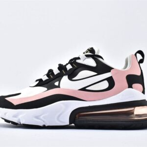 Nike Wmns Air Max 270 React Coral Black 1