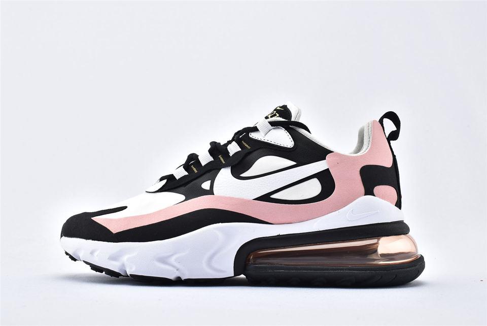 Nike Wmns Air Max 270 React Coral Black 1