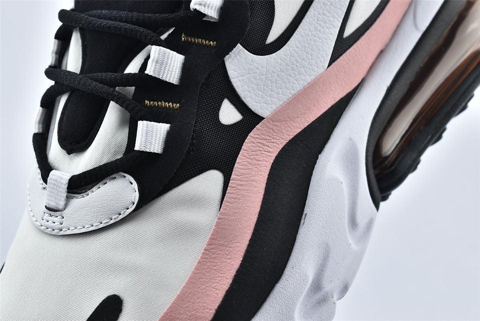 Nike Wmns Air Max 270 React Coral Black 10