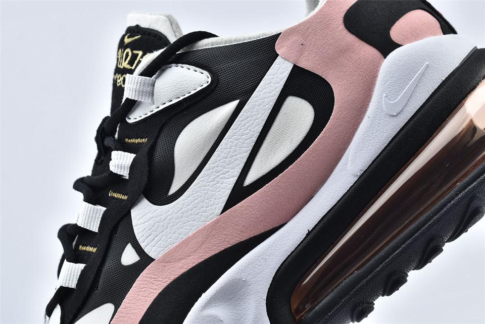 Nike Wmns Air Max 270 React Coral Black 11