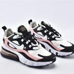 Nike Wmns Air Max 270 React Coral Black 2