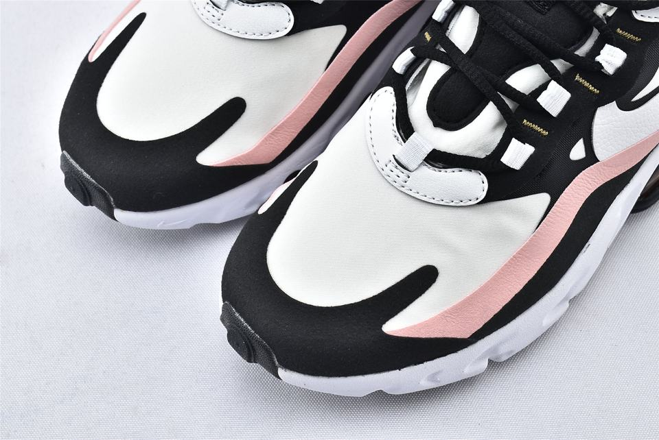Nike Wmns Air Max 270 React Coral Black 3