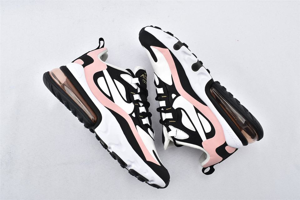 Nike Wmns Air Max 270 React Coral Black 7