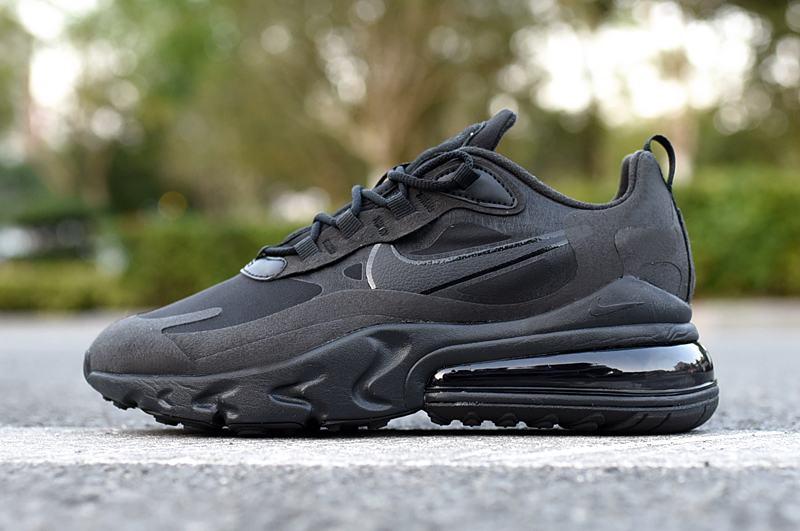 Nike Wmns Air Max 270 React Triple Black 2