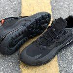 Nike Wmns Air Max 270 React Triple Black 4