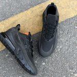Nike Wmns Air Max 270 React Triple Black 6