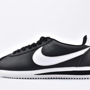 Nike Wmns Classic Cortez Leather Black White 1