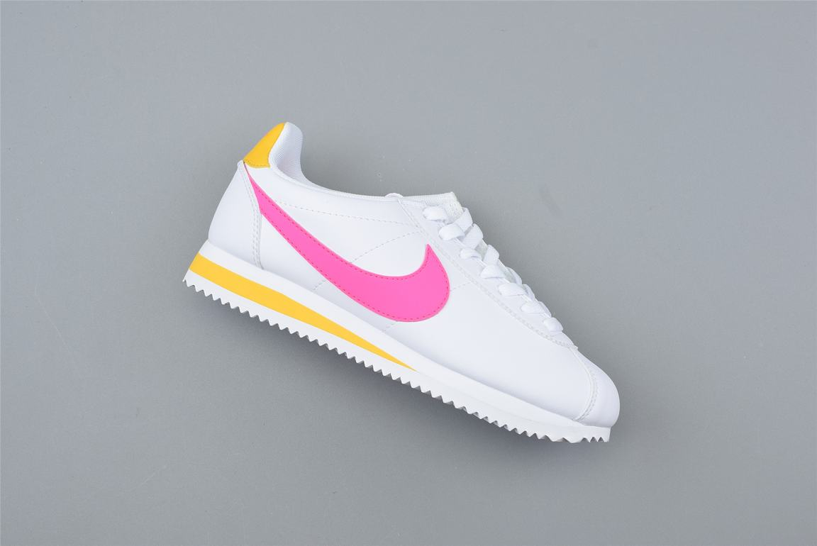 Nike Wmns Classic Cortez Leather Spring Pack Fuchsia 1