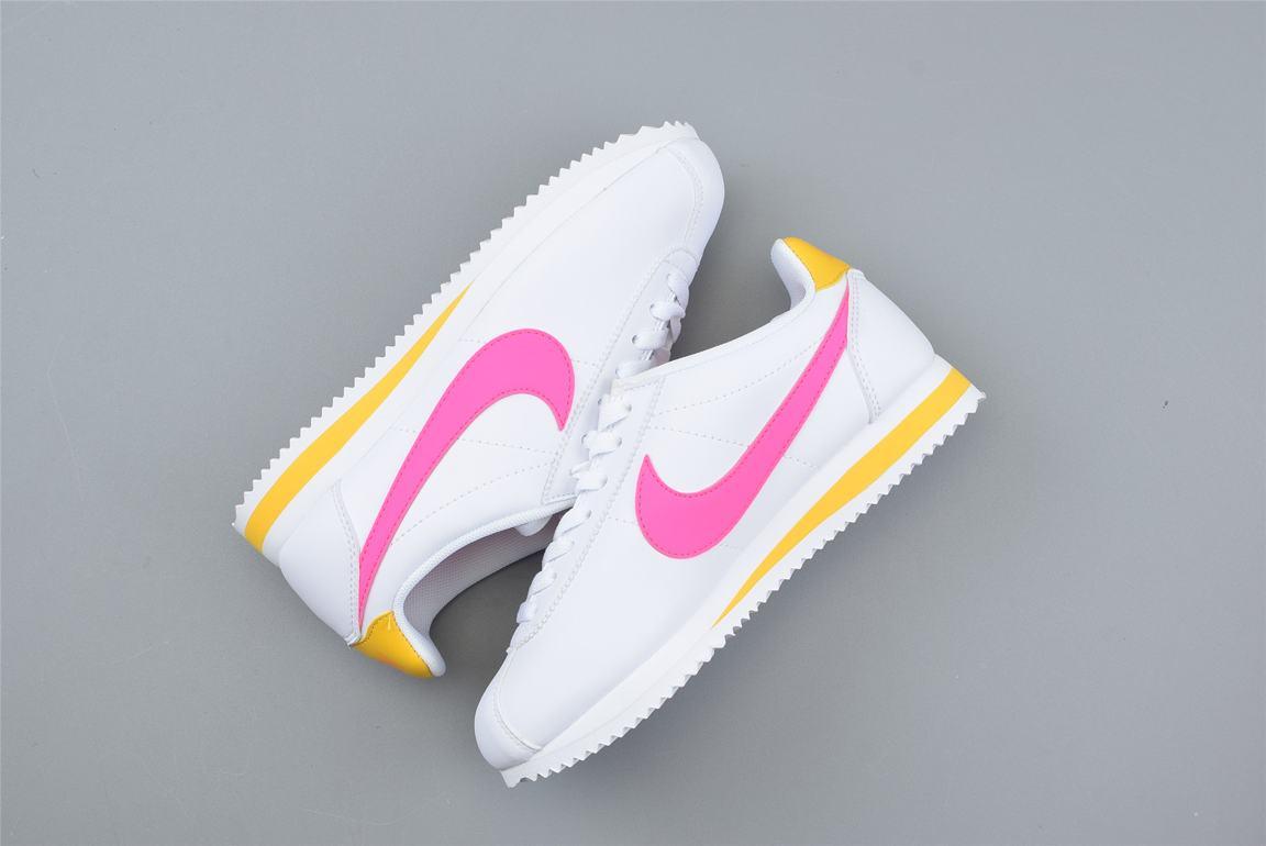 Nike Wmns Classic Cortez Leather Spring Pack Fuchsia 3
