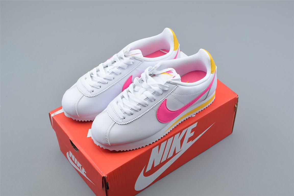 Nike Wmns Classic Cortez Leather Spring Pack Fuchsia 8