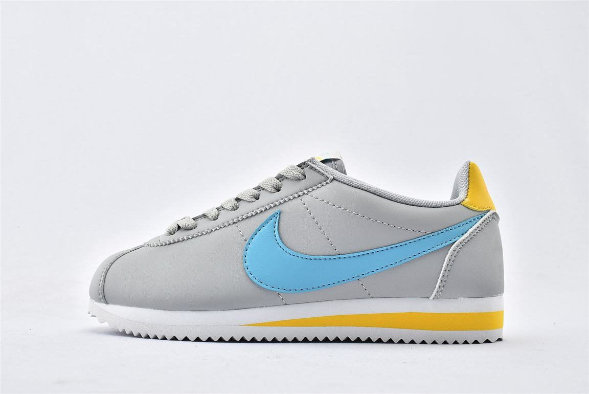 Nike Wmns Classic Cortez Leather Spring Pack Jade 1